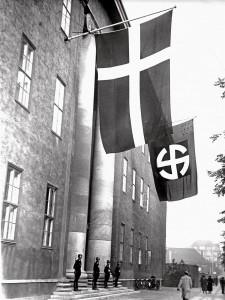 SS-korpset: Schalburgkorpset i Frimurerlogen på Blegdamsvej.