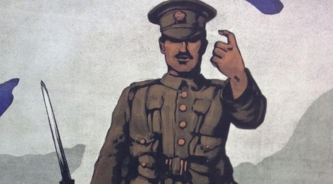 1. Verdenskrigs hverveplakat