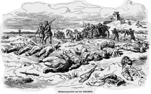 Hvor mange danskere døde i krigen 1864?