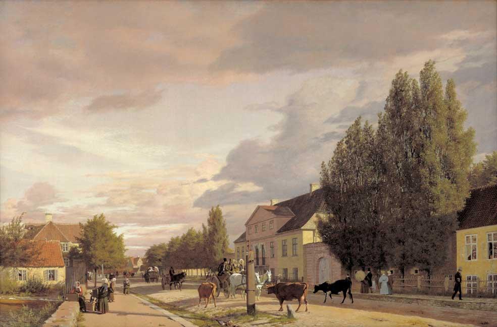 Købke: Sortedam. 1836